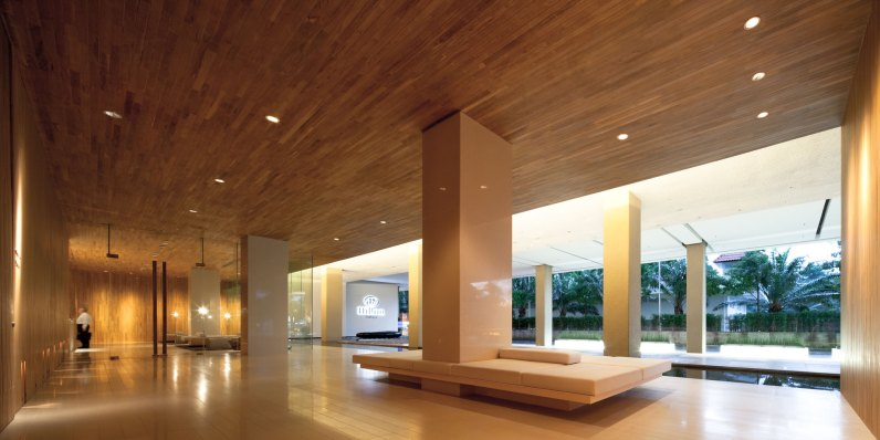 HiltonPattaya, Welcome area, by DEPARTMENT OF ARCHITECTURE