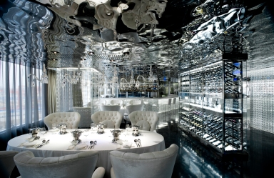 A Lin Restaurant, Xian, by Shenzhen Shenkong