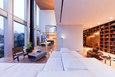 Mahanakhon : The Ritz Carlton Residences Bangkok : Duplex Room