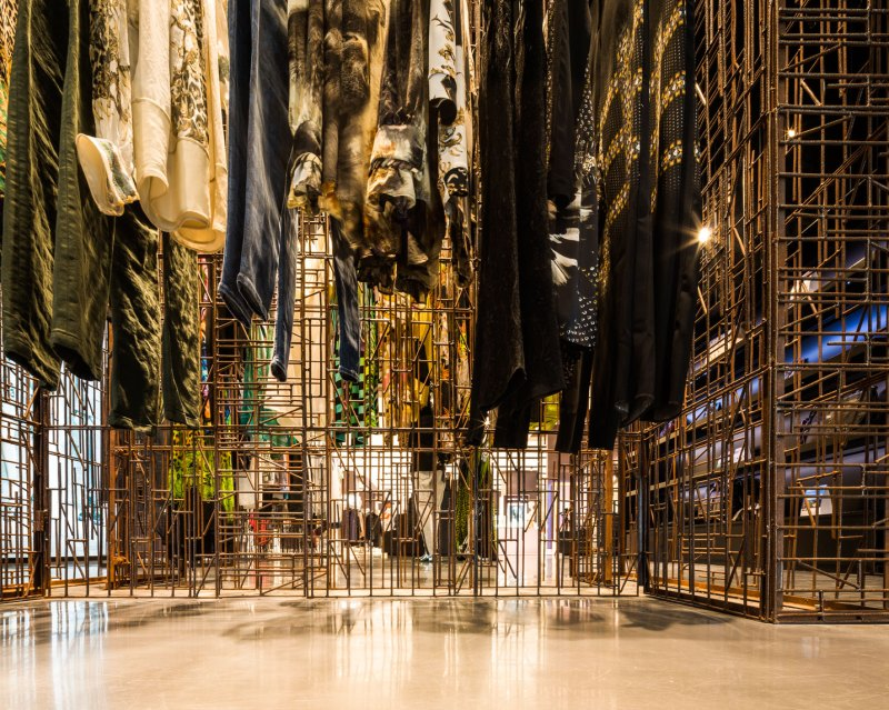 Just Cavalli Shop designed Openair