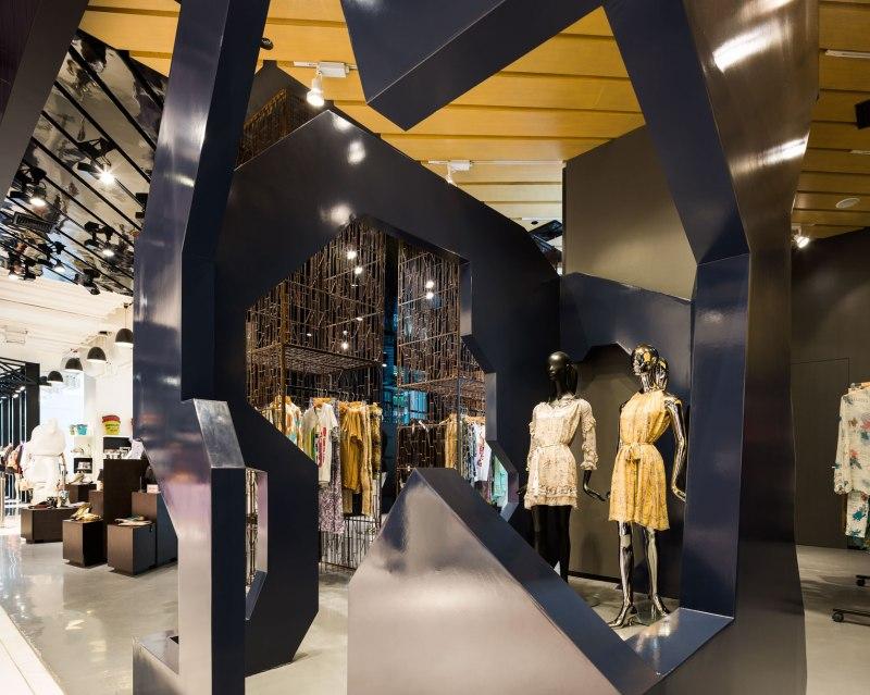 Just Cavalli Shop designed Openair