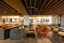 Central World Premium and Platinum Lounge designed by Openair