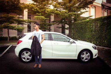 Mercedez Benz A Class Advertorial featuring Name - Getsunova by Lowe Thailand