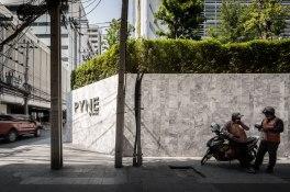 PYNE Condominium landscape design by TROP for Sansiri