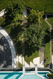 PYNE Condominium landscape design by TROP for Sansiri