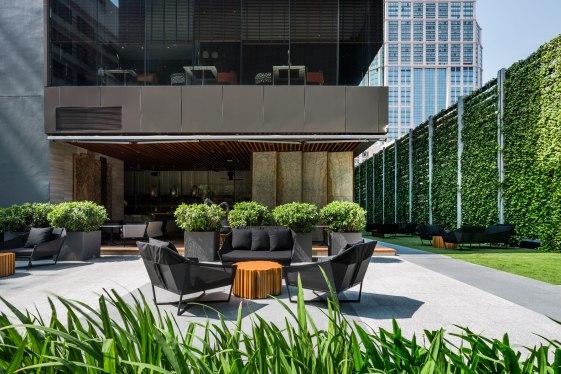 Hilton Sukhumvit 24 & Double Tree Hotel landscape design by P Landscape
