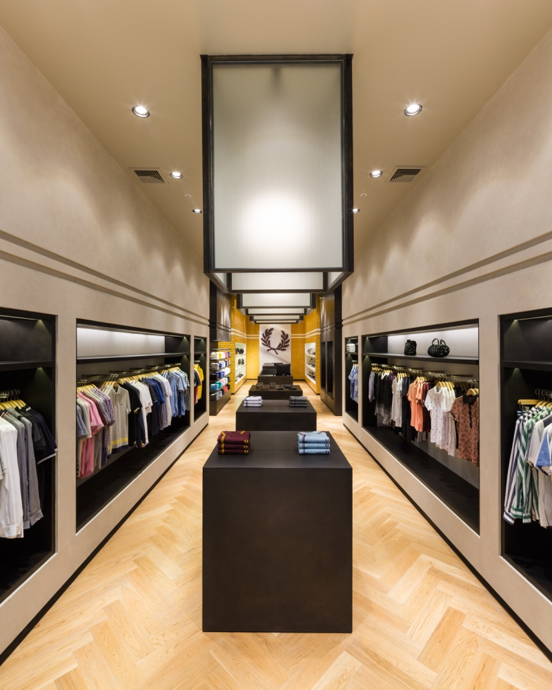 Fred Perry Store @Central Embassy Interior Design by Buckley Gray Yeoman