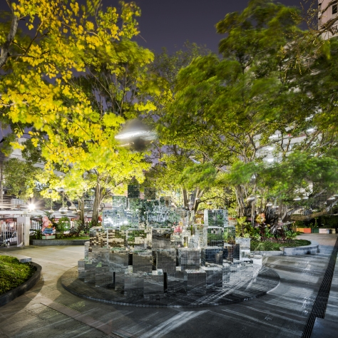 Mythical Escapism @Siam Square by Sanitas Studio