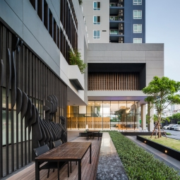 The Base SK77 by Sansiri. Architectural Design by Dhevanand. Landscape Design by Shma.