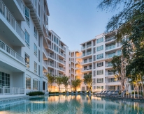 Summer Condominium in Huahin by Sansiri, design by Dhevanand.