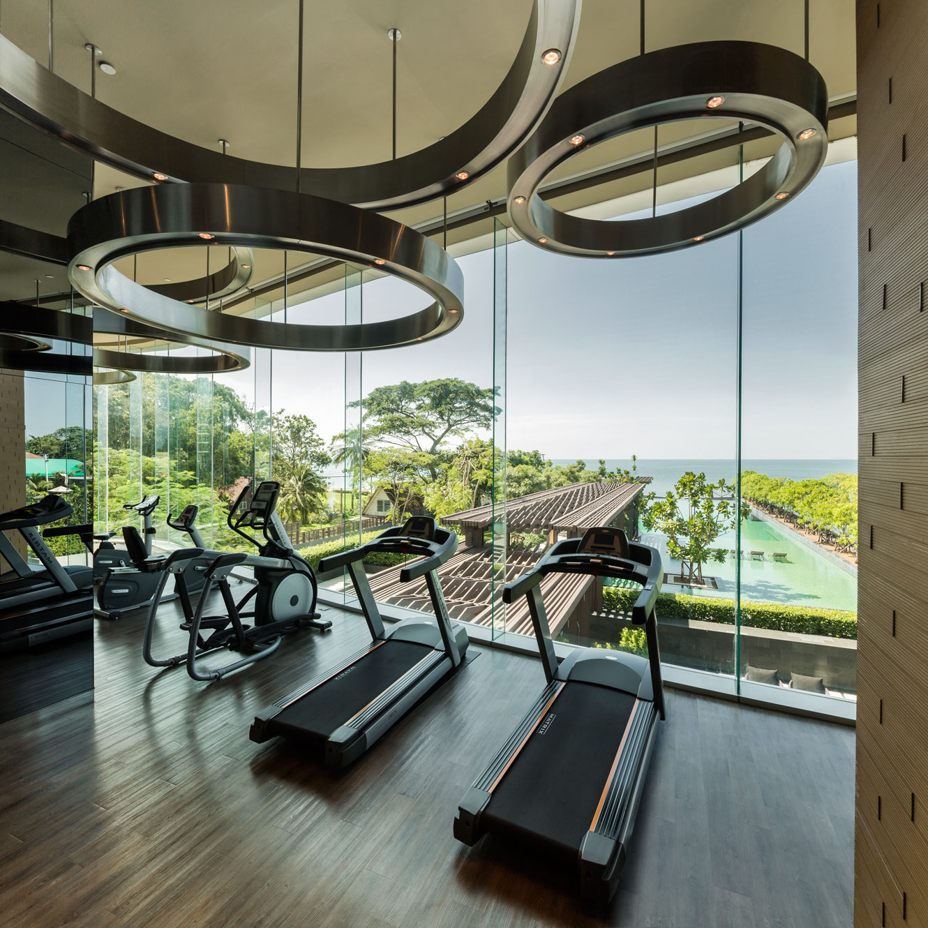 Gym Interior Fitness Design And: Wison Tungthunya & W Workspace