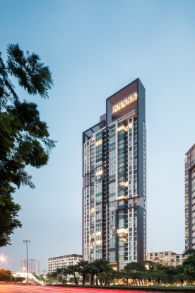The Breeze condominium by A49