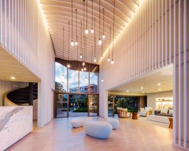 Baan San Ngam condominium. Landscape Architect » Shma. Architect » Somdoon Architects.