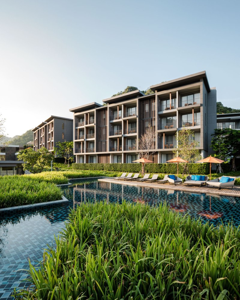 The escape hotel khao yai wison tungthunya w workspace for Hotel landscape design