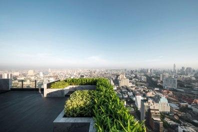 M Silom Landscape Design by TROP