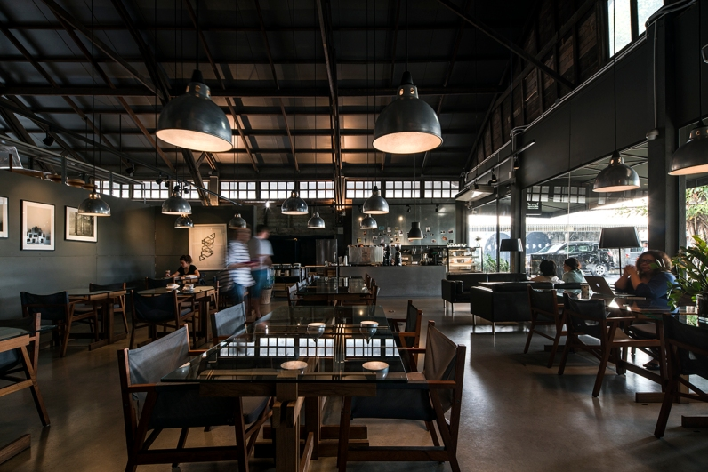 Library Cafe by DBALP @ The Jam Factory