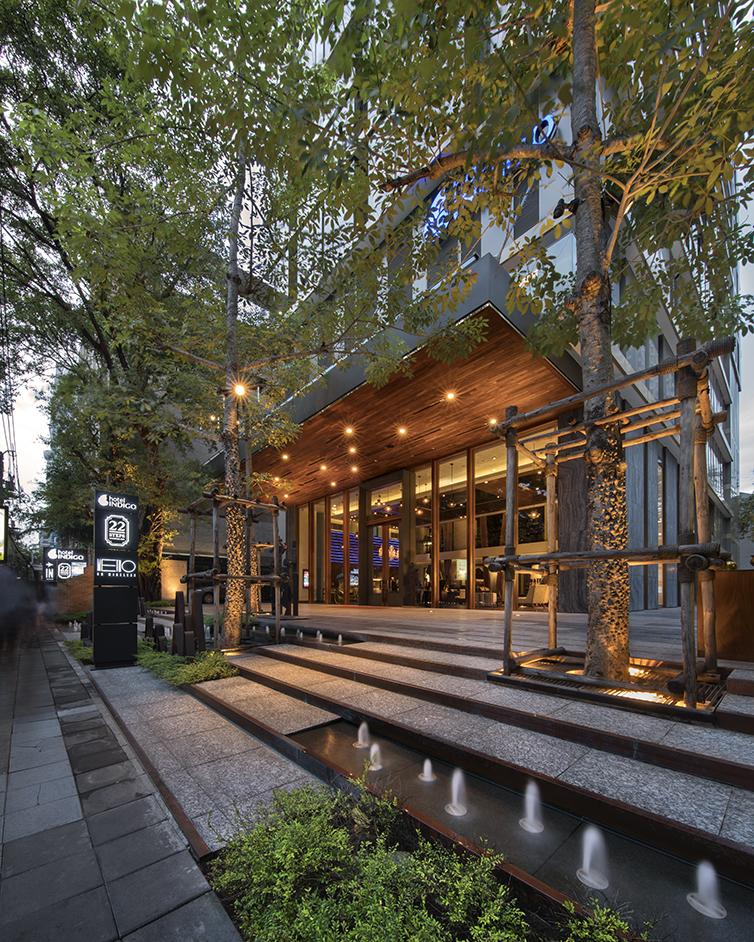 Indigo Hotel Landscape Design by L49