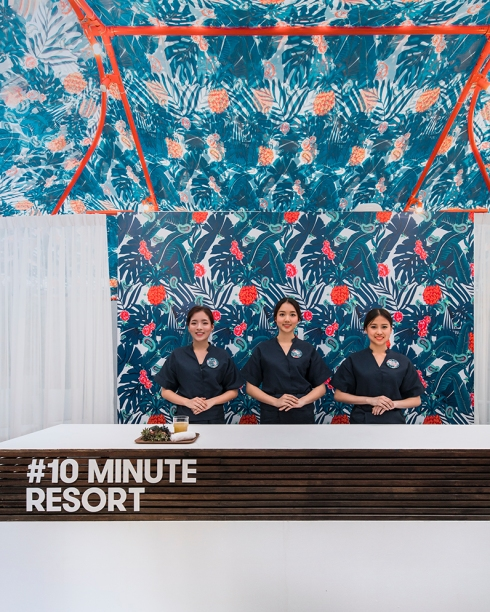10 Minutes Resort Happening at Emquartier by The EmDistrict People