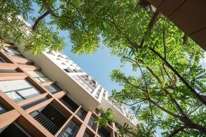 Hasu Haus by Sansiri. Landscape Architect » Shma. Architect » Somdoon Architects