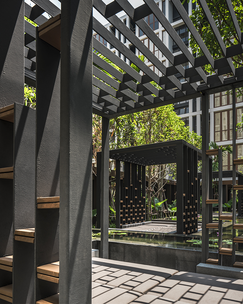 Hasu Haus by Sansiri. Landscape Architect » Shma. Architect » Somdoon Architects