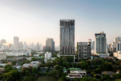 Ashton Sukhumvit 38. Architect » Somdoon Architects Landscape Architect » Shma