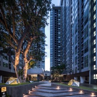 The Base Pattaya by Sansiri. Landscape Architect » Redland•scape
