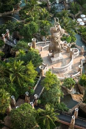Centara Grand Mirage Pattaya Hotel Landscape Design by URBANiS