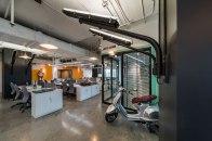 Vespiario Office. Interior design » Supermachine Studio