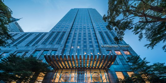 Exchange Tower. Photographed for SCCP Reit.