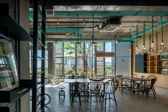 Hubbato : Co-working space. Architect » Supermachine Studio