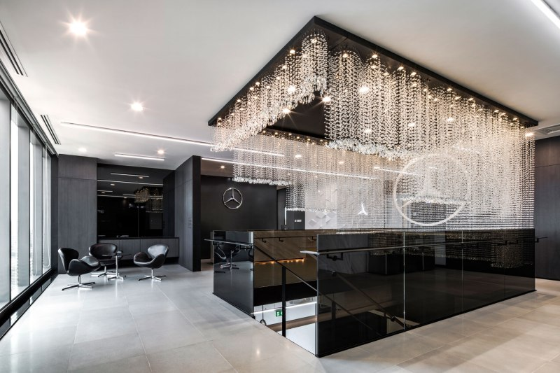mercedes benz office by pbm wison tungthunya w workspace. Black Bedroom Furniture Sets. Home Design Ideas