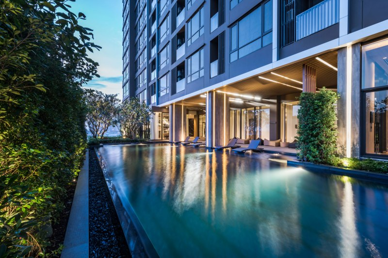 The Line 71 Condominium by Sansiri • Architect » DB Studio • Interior Architects » Urbanique & Arterior Group