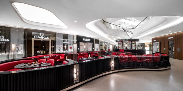 Le Salon De L' Atelier De Joel Robuchon @Central Embassy • Interior Design » B|U|G Studio