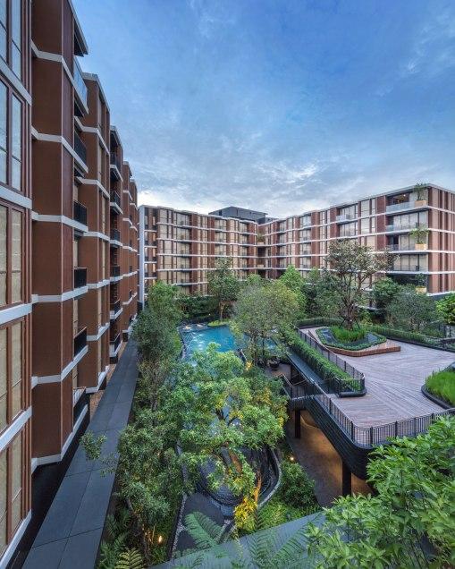 Mori Haus Condominium by Sansiri • Architects » Somdoon Architects • Landscape Architects » Shma