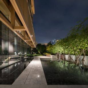 Sindhorn Residence • Lighting Design » Dazzle Design • Interior Architects » Department Of ARCHITECTURE • Landscape Architects » TROP