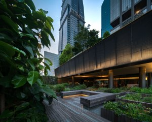 OUE Downtown Landscape Architects » Shma