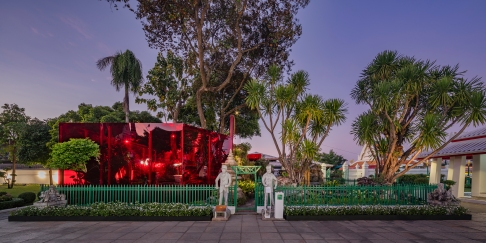 Across The Universe And Beyond Installation Art at BAB 2018 by Sanitas Studio