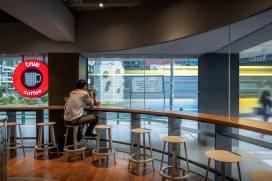 True Cafe at Siam Square Soi 2 • Architects » M Space