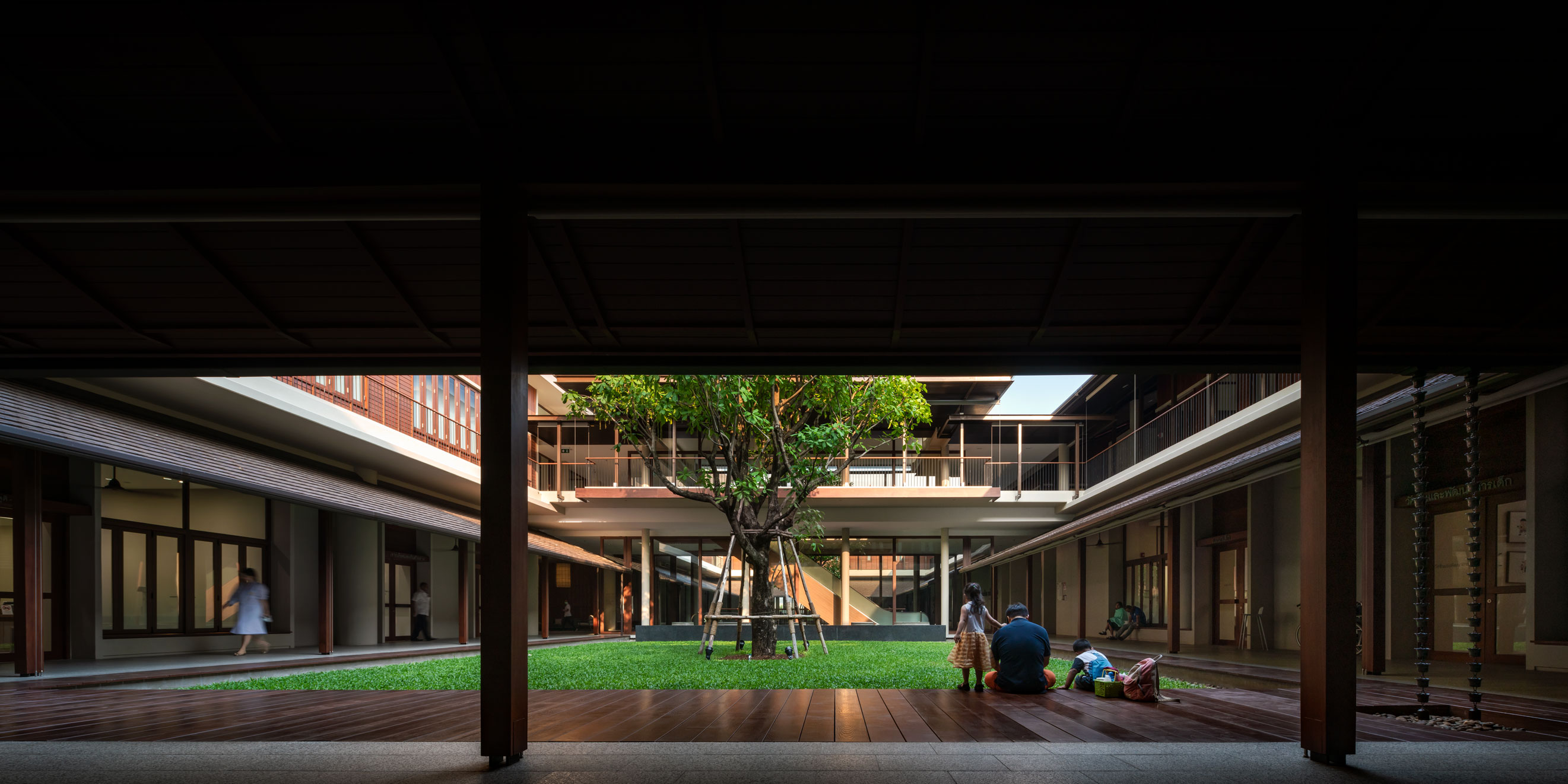 Ratchaphruek Hospital Khon Kaen by Arsomslip Community and Environment Architect (II) Interior — Wison Tungthunya & W Workspace