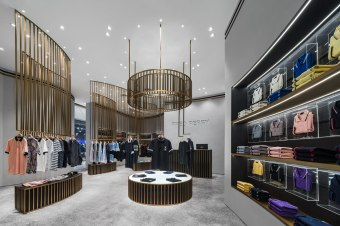 Fred Perry Store at Icon Siam • Interior Architects » BuckleyGrayYeoman