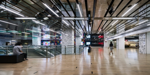 Metro Mall at Chatuchak Park MRT Station • Architects » Behold Architect & Interior Design