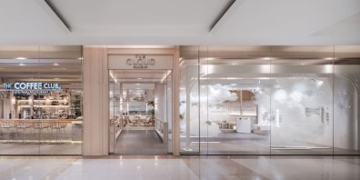 Sansiri Lounge : The Cloud & The Coffee Club • Interior Design by Padee Studio