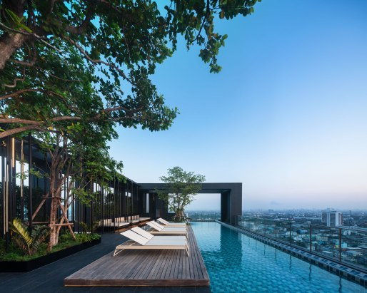 The Base Phetkasem by Sansiri • Landscape Architects » Arsomsilp • Interior Design » Padee Studio