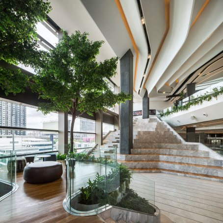 Singha Complex • Interior Architects » Steven J. Leach Jr. + Associates Limited