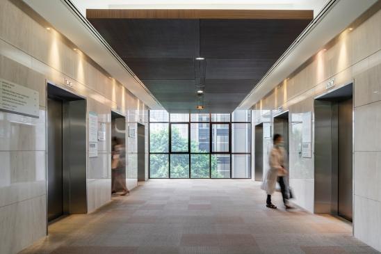 Bumrungrad Sport Clinic Interior Design by Chapman Taylor
